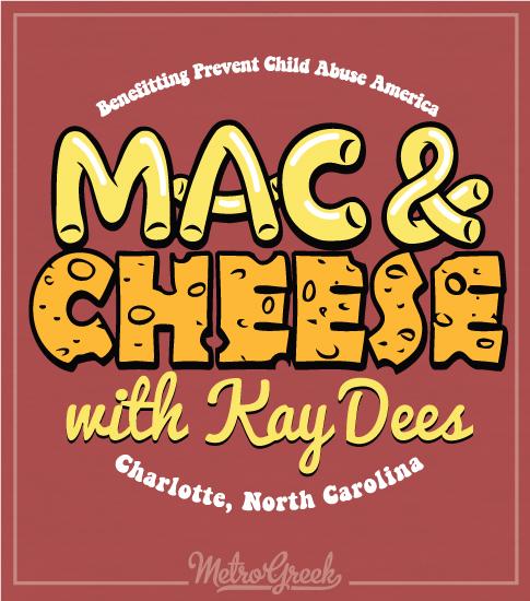 Mac and Cheese Shirt Kappa Delta