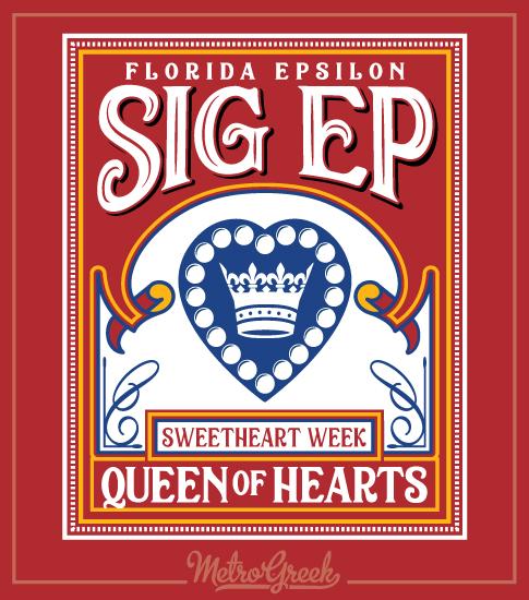 SigEp Queen of Hearts Shirt