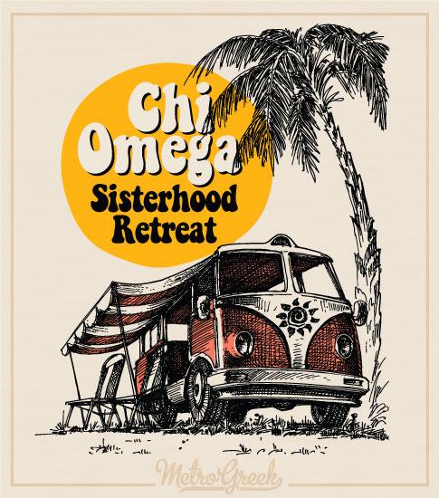 Sorority Sisterhood Retreat Shirts