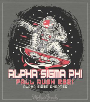 Alpha Sigma Phi Fraternity Rush Shirt