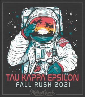 Fraternity Rush Astronaut