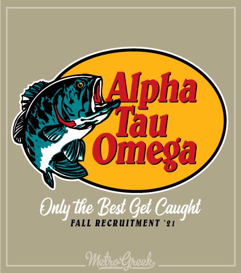Fraternity Rush Shirt Bass Fishing