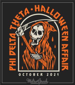 Halloween Party Shirt Grim Reaper