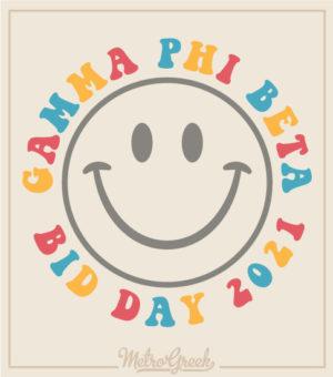 Bid Day Shirt Gamma Phi Delta