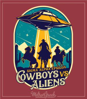 Cowboys and Aliens Shirt SAE