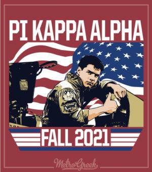 Fraternity Rush Shirt Pike Top Gun