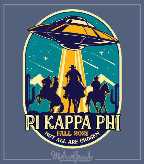 Fraternity Rush Shirt Cowboys and Aliens