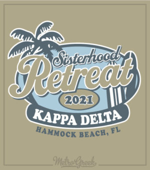 Sorority Sisterhood Beach Retreat Shirt